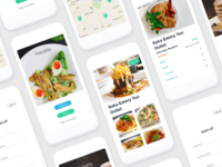 Fooddy Free adobe XD Ui kit - Coming soon..