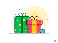 Gift (illustration series 11)