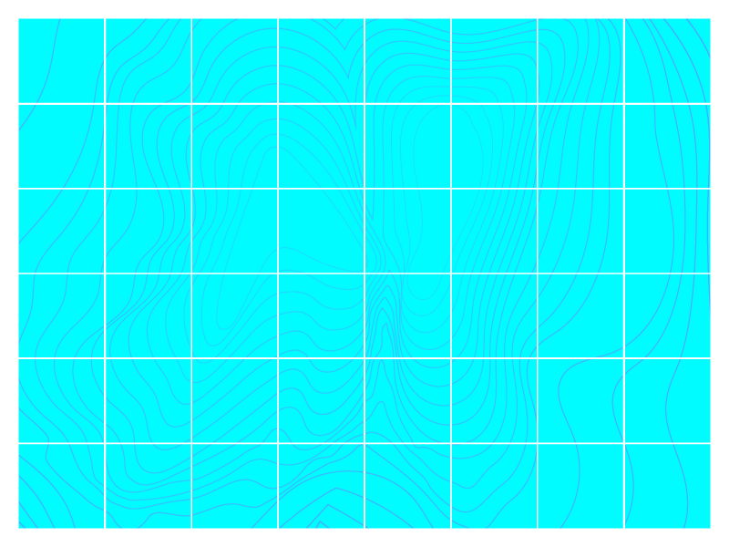 Typehue N elevation blue topography topo map floor ocean typehue n