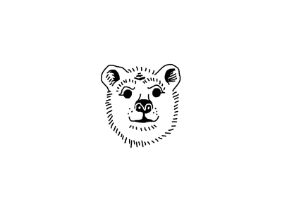 Polar Bear Mask north pole illustration drawing polar bear mask bear