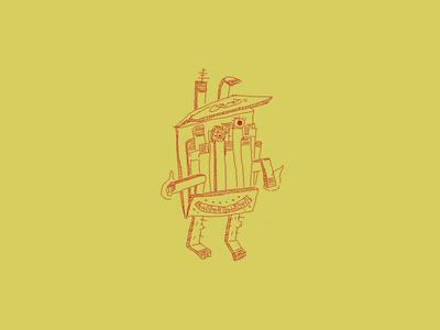 🔥 Matchbook 2021 🔥 character matchbook match illustration drawing march of robots robot