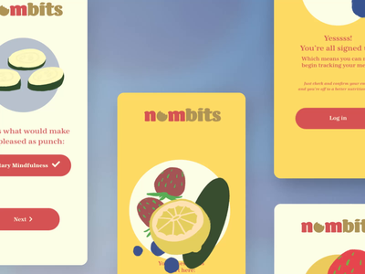 Adobe XD Playoff: Nombits Sign Up Form UI