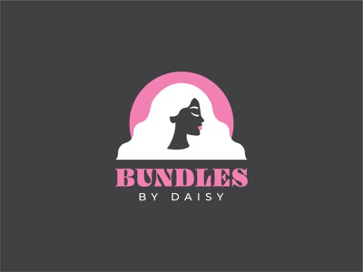 Bundles by Daisy minimal vector typography logo design illustration branding