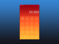 Daily UI 003 - Calculator