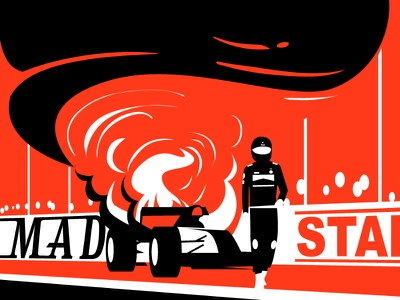 Black smoke brand guide illustration style visual ui illustration editorial illustration brand illustration vector illustration duotone illustration sport illustration