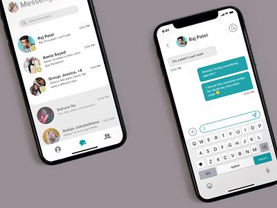 Messenger App messenger app messenger ui design app