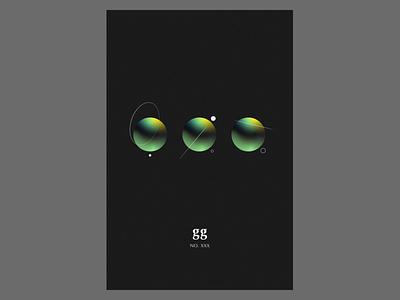 Minimal Space planet science illustration space minimalism graphic design