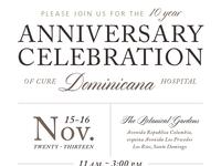 Dominican Rep. Anniversary Invite