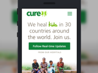 cure.org Redesign
