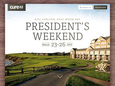 Special Event Registration Page event registration register cure grass sky frutiger tisa photo form