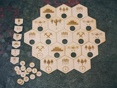 Laser Cutters of Catan