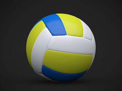 Volleyball ball 3d ball volley volleyball icon sport sports design