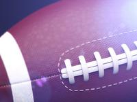 A football big