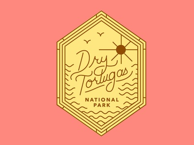 Dry Tortugas Badge