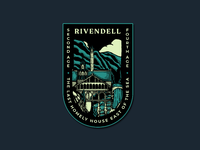 Rivendell badge drib