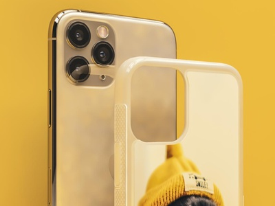 3D mobile phone case design illustration photorealistic mockup photorealistic 3dsmax 3d