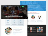 MAMTA Health Institute for Mother and Child Website Concept