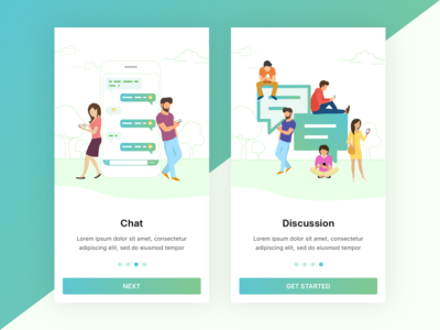Social Networking Walkthrough Design Concept