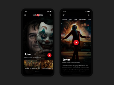 Movie Explorer : Service App for Watching Movies and TV Series