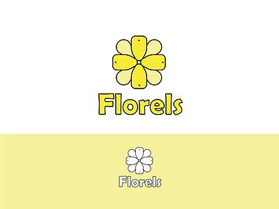 Florels Logo Design illustrator logos logodesign logo branding design