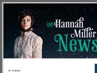 The Hannah Miller News...