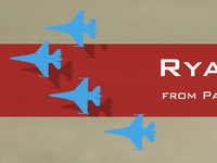 Rya and the F-16s