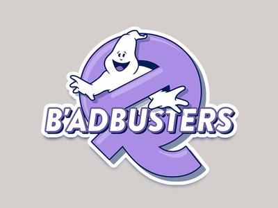 Badbusters sticker