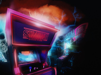 Stranger Things Arcade Machine