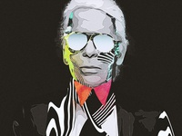 Karl Lagerfeld wallpaper