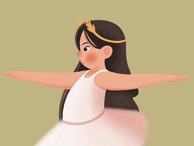 Jealousy procreateapp procreate design editorial girl ballerina bale girls illustration illustration