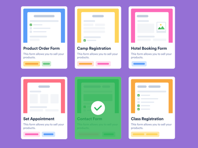 Form Templates Gallery editorial blog document colorful ux ui styleguide styles variations select form templates form gallery forms component illustration placeholder gallery templates