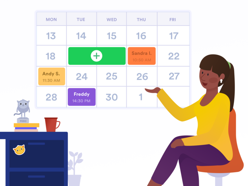 Appointment Slot component illustration jotform submission data response form weekly schedule schedule events meeting google calendar calendar appointments