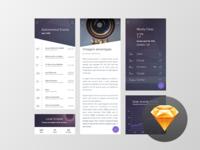 Starry App Freebie