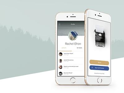 Versemaker - poetry app user interface type keyboard poem poetry sketch app ios