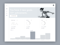 Fitness Dashboard Wire