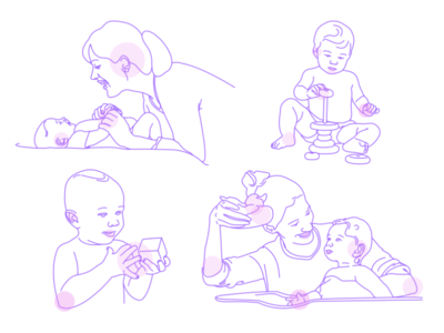 Child Vaccination Illustration
