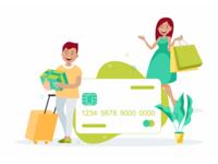 Credit Card Illurstrations