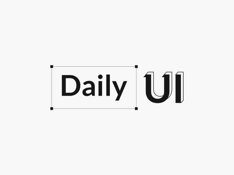 Daily UI Challenge : 052 Logo design logodesign dailyui adobexd ui
