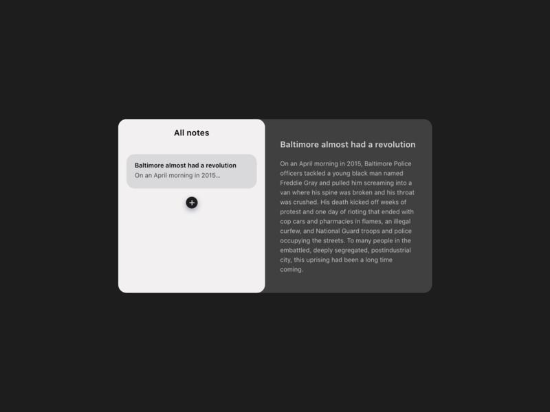 Daily UI Challenge : 065 Notes Widget notes widget dailyui adobexd ui