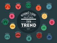Design popular  trends