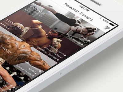 Sport App (work in progress)