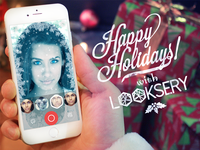 Happy Holidays With Looksery