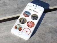 iTraq app design