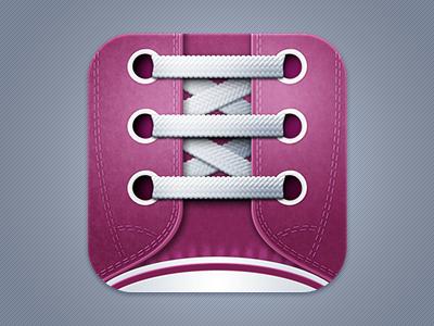 Shoe laces icon