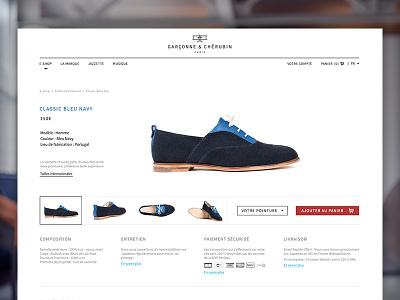 G&C web design eshop shoes