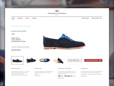 G&C web design eshop shoes