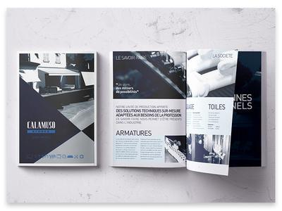 Art Direction+Design: Catalogue Calamuso Awnings