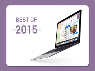 Daily UI challenge #063 - Best of 2015 purple macbook air 2015 mockup ui uidesign userinterfacedesigner userinterfacedesign userinterface visualdesign uiux visualdesigner dailyuichallenge dailyui