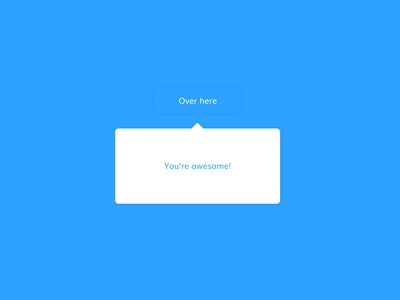 Daily UI challenge #087 - Tooltip tooltip blue and white blue mockup userinterfacedesigner userinterface uidesign visualdesign userinterfacedesign visualdesigner dailyuichallenge uiux dailyui