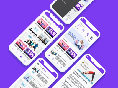 Body & Mind Care App app illustration mobile ui mobile app design mobile app app design modern app meditation app ui yoga app beauty app salon app beauty care space